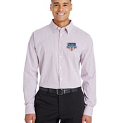 Performance Men's Micro Windowpane Shirt